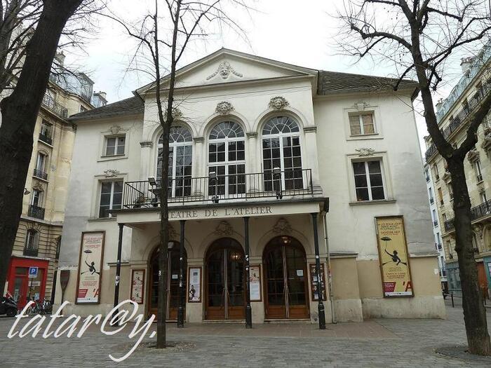 Balade dans Paris. Théâtre de l'atelier.