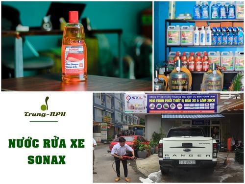 Nước rửa xe Sonax giá bao nhiêu?