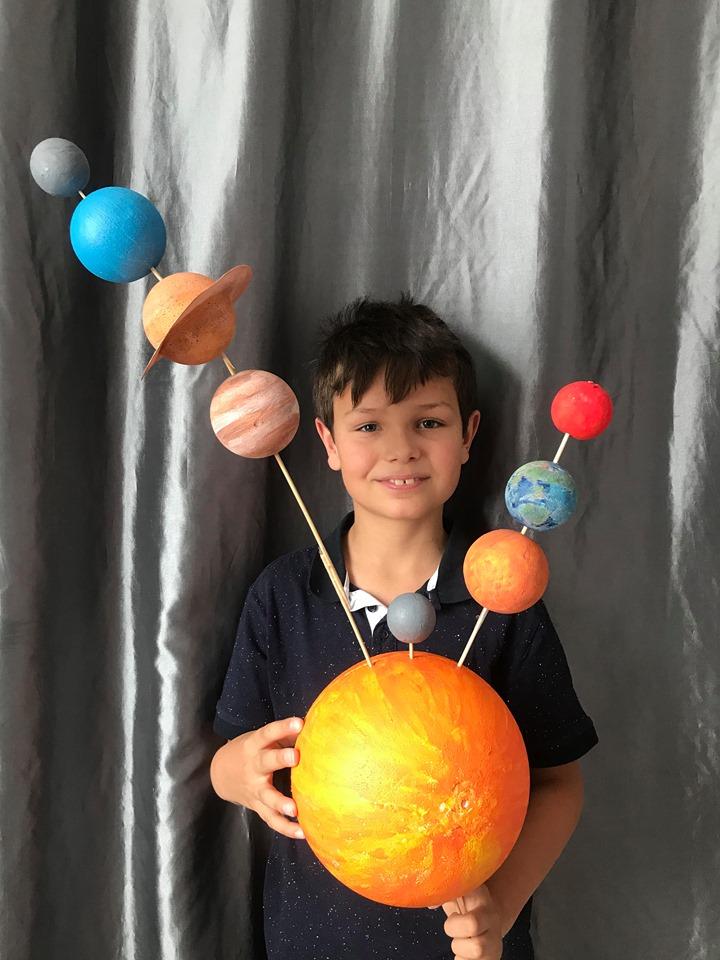 Exposé de Maxime sur le système solaire