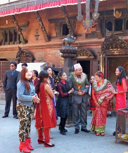 un beau mariage près du palais royal