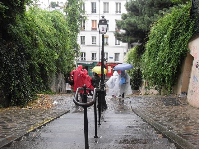 Il a plu à Paris...
