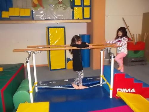 Deuxième séance de gymnastique