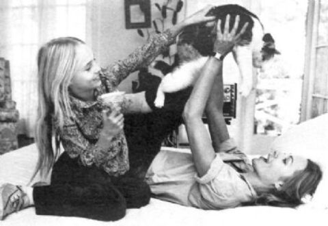 Michelle et sa fille Chynna.