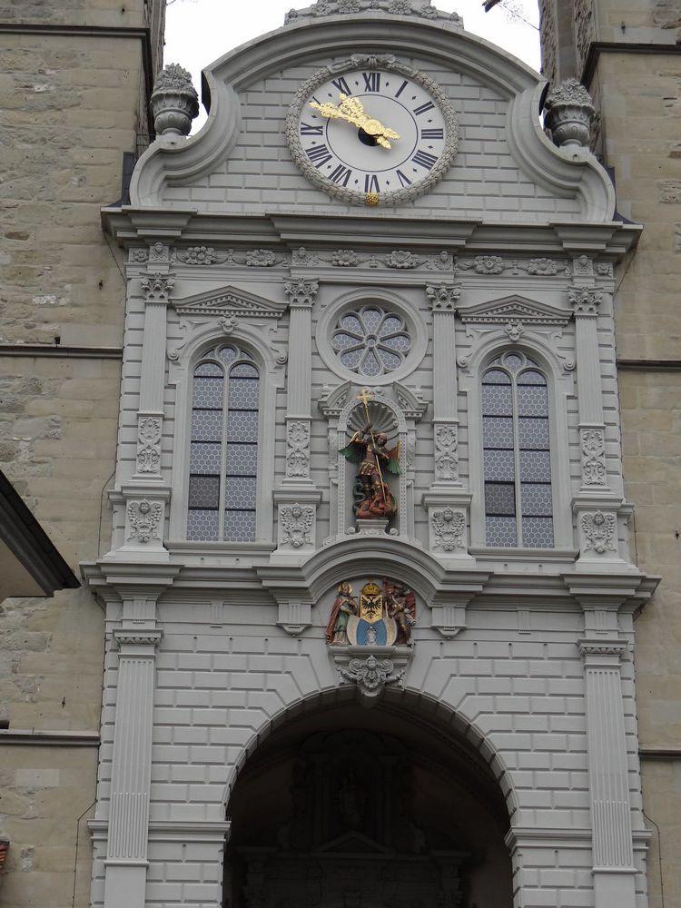 L'église Saint-Léger de Lucerne...