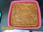 Le gâteau magique à la vanille et aux framboises