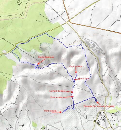 La Roche Redonne: parcours du 15/01/2018