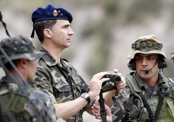 Felipe et les commandos