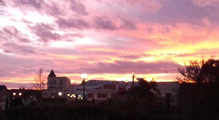 Super lever de soleil