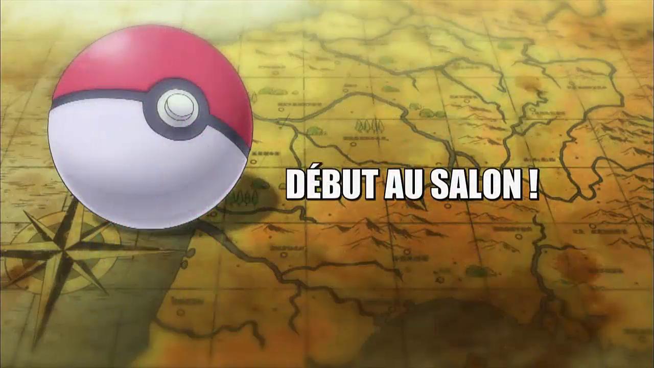 Pokémon - 18x12 - Début au Salon !