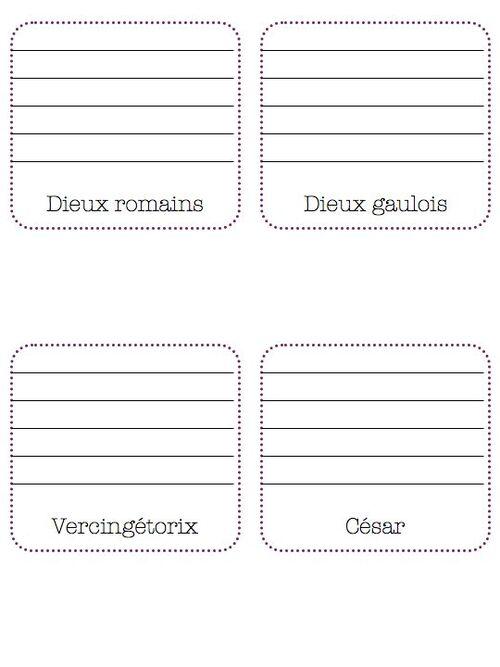 lapbook de l'antiquité-ce2