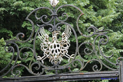 le chateau de waroux et son parc