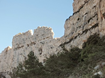 Le rocher des Goudes