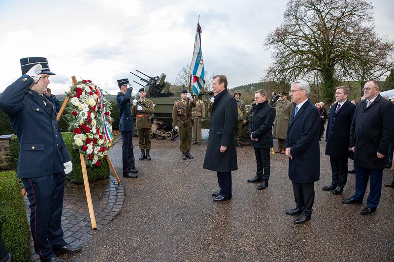Commémoration du 75e anniversaire de la libération de Vianden