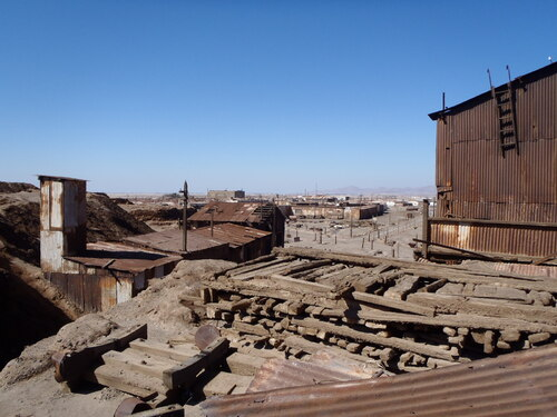 Humberstone, l'incroyable Far West chilien