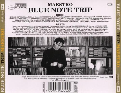 Blue Note Trip Volume 7 Maestro : Birds/Beats CD Blue Note Records 50999 2262872 5 [ NL ]