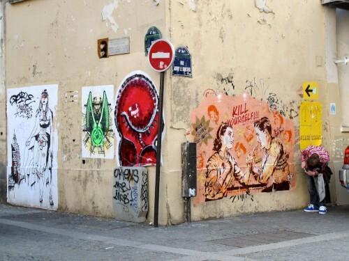Quincampoix street-art border kill 4836