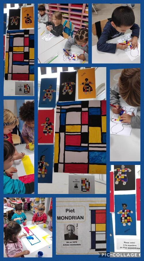 Piet Mondrian et les MS.