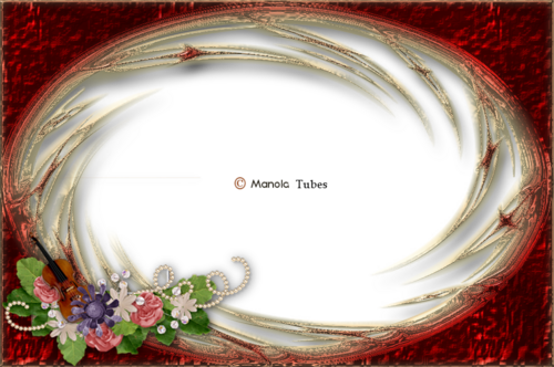 Cadre Fleuri 2984