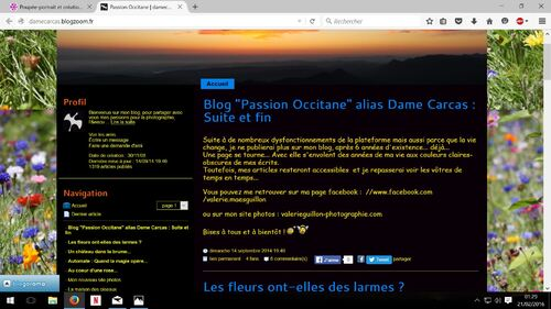 Dame Carcas alias Blog Passion Occitane