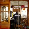 Lisbonne - Cabine de pilotage du trolleybus