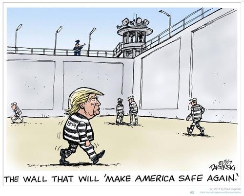 Le mur qui rendra l'Amérique encore sûre !