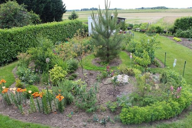 Panorama jardin familiale