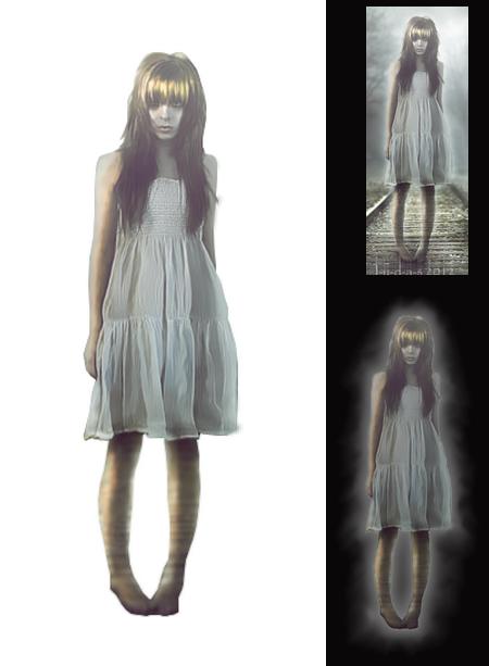 fantôme fille