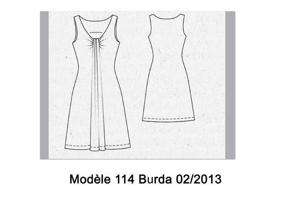 Robe 114 Burda 02-2013