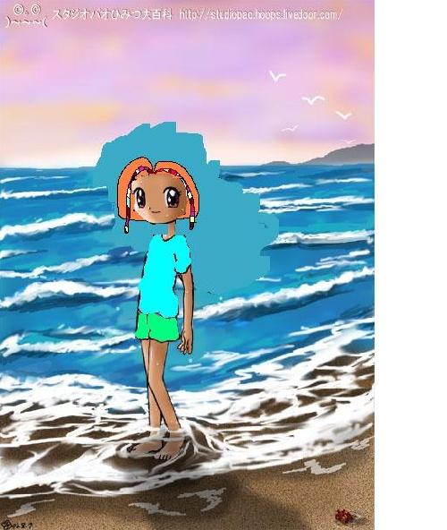 Moi près de la mer