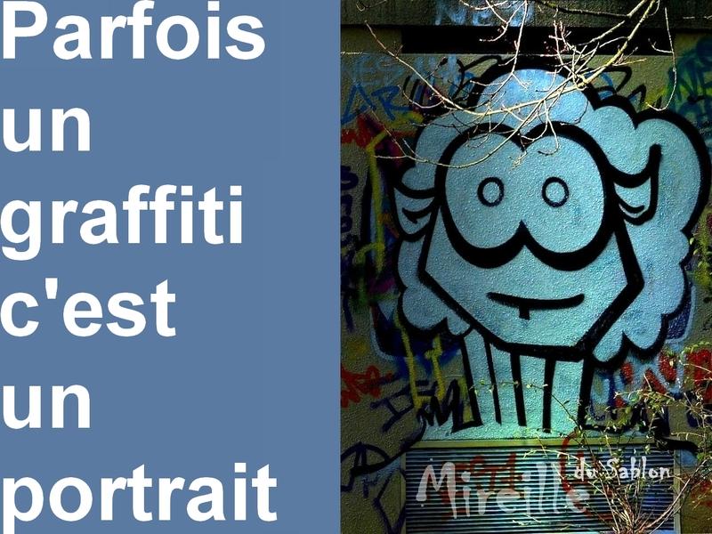 Metz / Les graffitis de la patinoire...