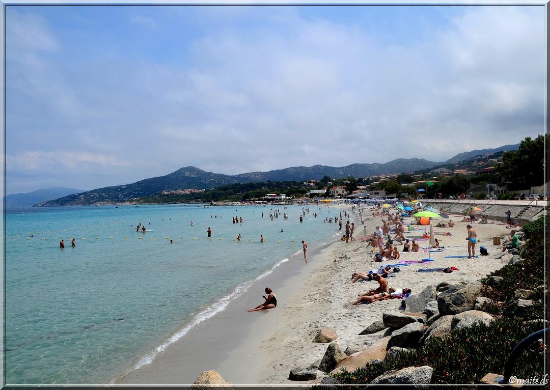 Plage d'Île-Rousse - Corse - 26-07-2014