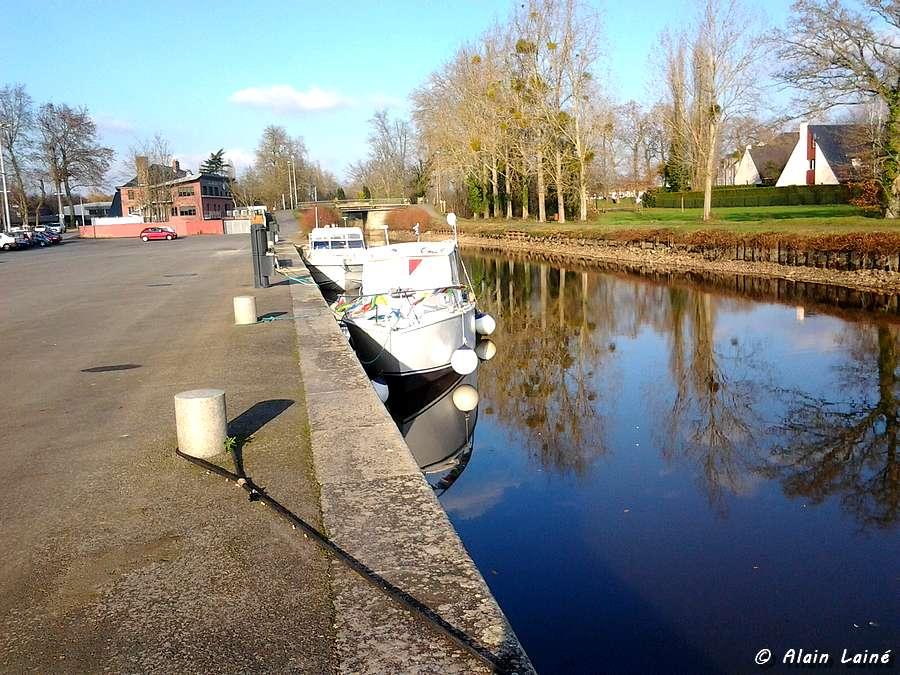 Halte nautique à Betton - Bretagne