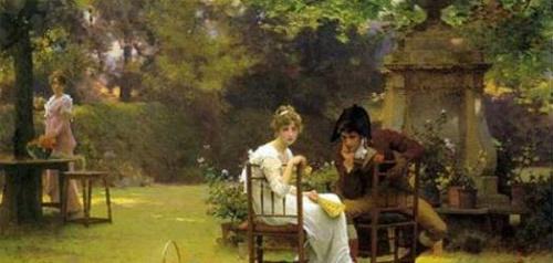 MARCUS STONE, peintre britannique...( 1840 - 1921 )