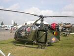 SE 313B Alouette II,Belgique