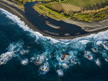 Ravine Sèche, littoral de La Réunion © Frédéric Larrey - Conservatoire du littor