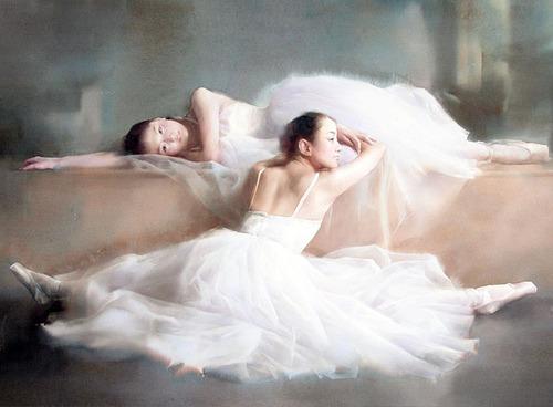 Liu Yi, aquarelliste