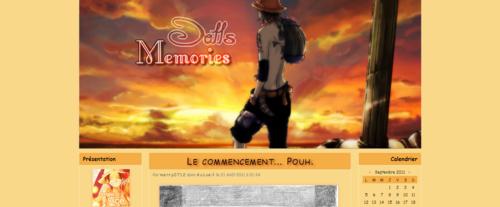 Thème Dolls Memories Ace Ver.