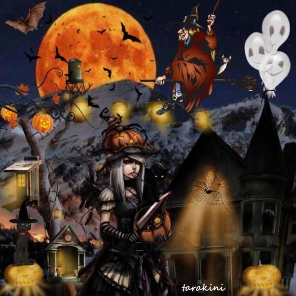 Halloween dans la nuit  brune ...