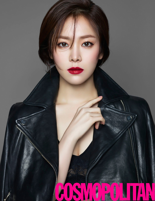 Han Ji Min pour Cosmopolitan