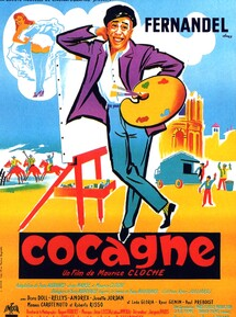 COCAGNE BOX OFFICE FRANCE 1961