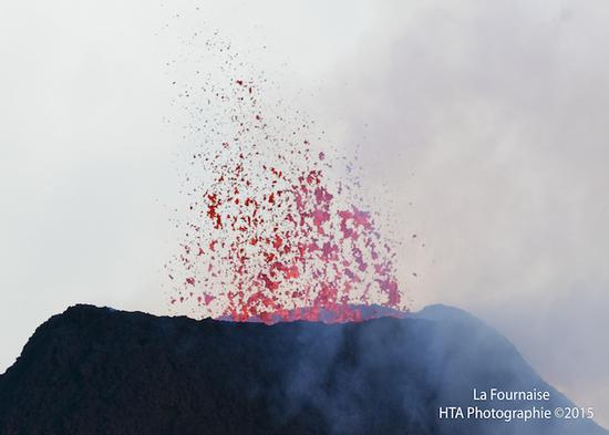 Volcan: L'activité sismique toujours à la hausse