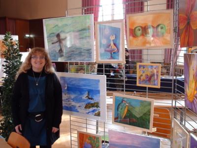 Blog de cathycolor : Artiste mal-voyante, Exposition de peinture à Strasbourg.le 5 et 6 décembre 2009
