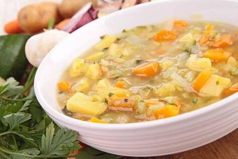 la soupe aux légumes contre la gastro-entérite aiguë