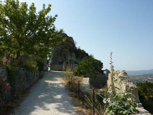 Visite de Saignon - Vaucluse