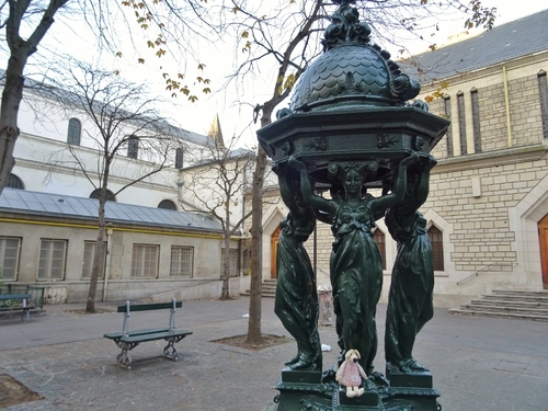 Une prussienne parisienne
