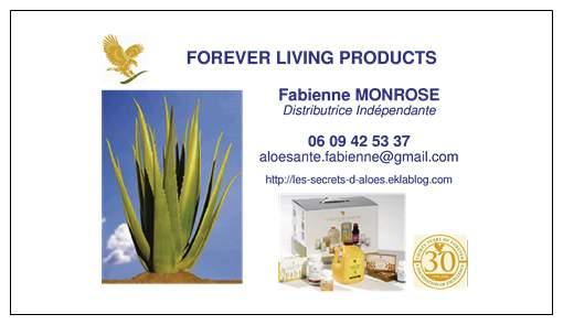 Carte De Visite Fabienne MONROSE