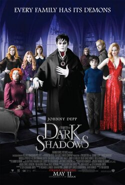 Dark shadows - de Tim Burton (2012) - avec Johnny Depp & Michelle Pfeiffer