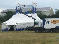 Arrivée du Cirque Georget