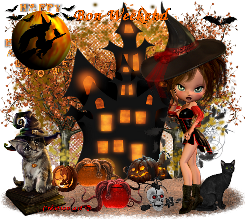 Mes créations Halloween 2016