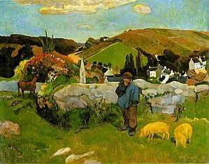 Gauguin.swineherd.750pix.jpg